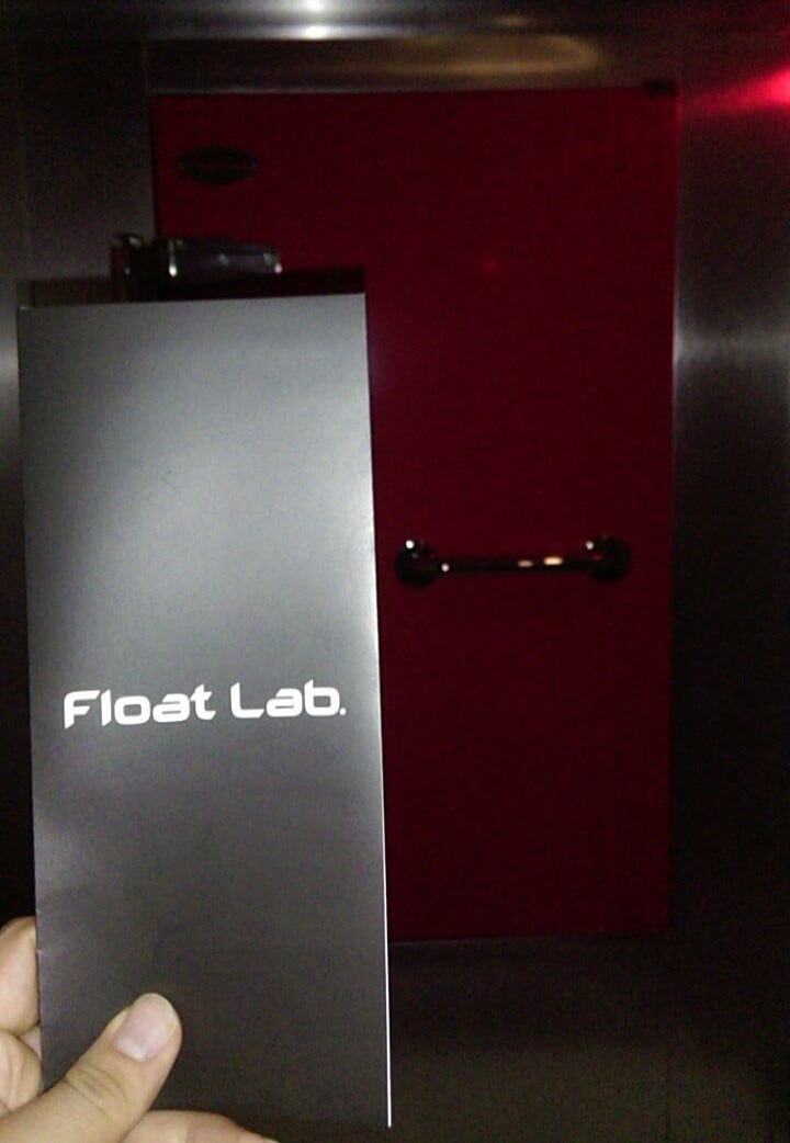 sensory deprivation tank float lab